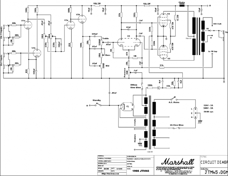 Power supply modification question | Physics Forums on bassman 70 schematic, fender super amp schematic, fender bantam bass amp schematic, bluesbreaker schematic,