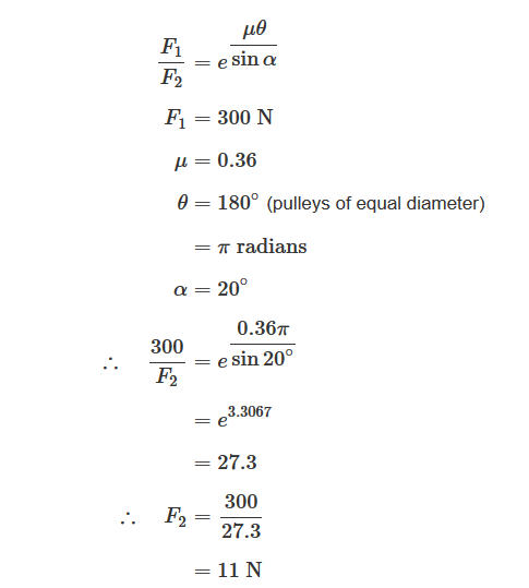 Calculating Power/Torque transmitted between 2 pulleys | Physics Forums