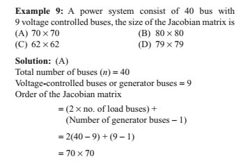 Load Flow Order of Jacobian Matrix Power System | Physics Forums