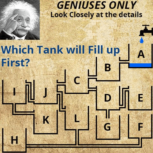 Which tank fills first   Physics Forums