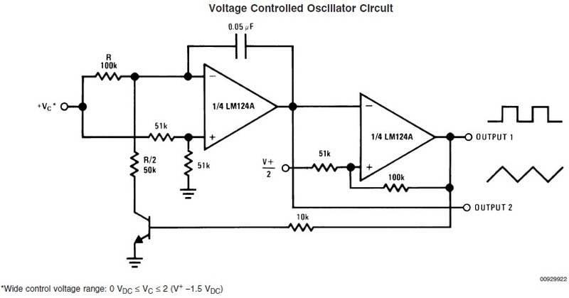 555 Voltage Controlled Oscillator 1v/octave | Physics Forums on