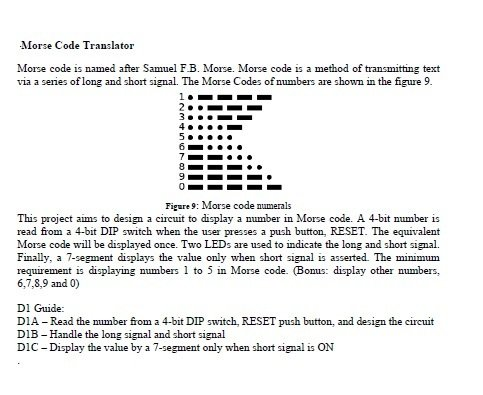 Morse Code project | Physics Forums