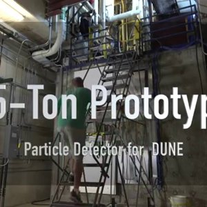 35-Ton Prototype Particle Detector for DUNE