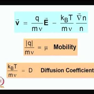 Plasma Physics: Fundamentals and Applications (NPTEL):- Lecture 38: Diffusion in plasma