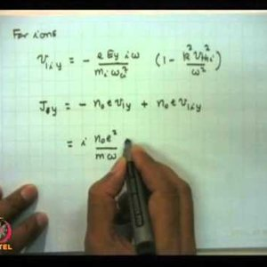 Plasma Physics: Fundamentals and Applications (NPTEL):- Lecture 33: Ion acoustic, ion cyclotron and magneto sonic waves in magnetized plasma