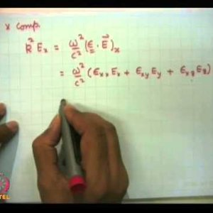 Plasma Physics: Fundamentals and Applications (NPTEL):- Lecture 28: Electromagnetic waves propagation in magnetise plasma