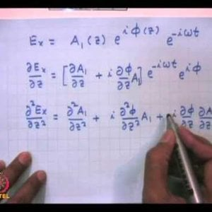 Plasma Physics: Fundamentals and Applications (NPTEL):- Lecture 9: Electromagnetic Wave Propagation Inhomogeneous Plasma