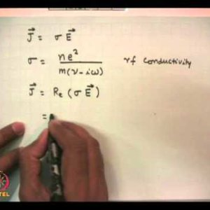 Plasma Physics: Fundamentals and Applications (NPTEL):- Lecture 4: RF Conductivity of Plasma