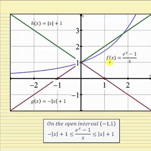 Prove the Limit as x Approaches 0 of (e^x-1)/x