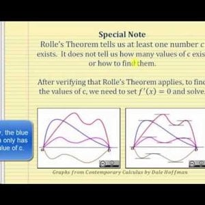 Proof of Rolle's Theorem