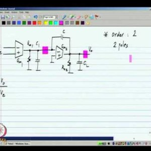 Analog IC Design by Dr. Nagendra Krishnapura (NPTEL):- Two stage miller compensated opamp - 1