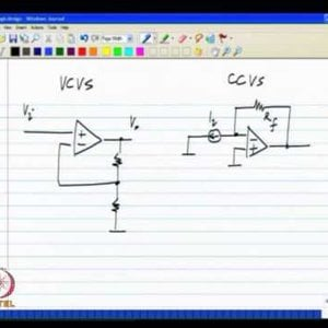 Analog IC Design by Dr. Nagendra Krishnapura (NPTEL):- Opamp realization using controlled sources; Delay in the loop