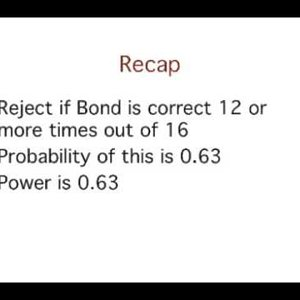 2. Power: Example  Calculations