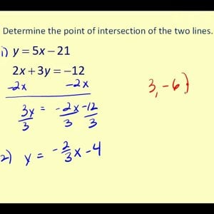 Determining the Intersection of Two Graph on the TI83/84