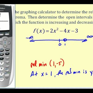 Determining When a Polynomial Function is Increasing and Decreasing