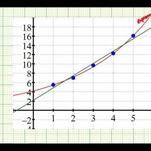 Ex: Comparing Linear and Exponential Regression