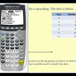 Exponential Regression – Example 2