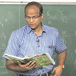 Introduction to Atmospheric Science by Prof. C. Balaji (NPTEL):- Lecture 29: The second law of thermodynamics – Clausius Clapeyron relation 1