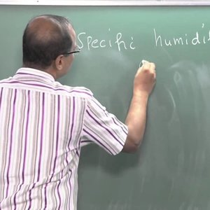 Introduction to Atmospheric Science by Prof. C. Balaji (NPTEL):- Lecture 17: Problems using Skew-T ln-P chart 1