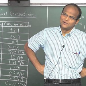 Introduction to Atmospheric Science by Prof.C. Balaji (NPTEL):- Lecture 02: Atmosphere - A brief survey (Pressure, Temperature & Chemical composition)