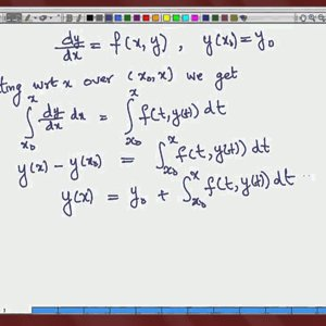 Differential Equations and Applications (NPTEL):- Lecture 17: Basic Lemma and Uniqueness Theorem