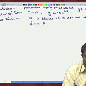 Differential Equations and Applications (NPTEL):- Lecture 15: Well-posedness and Examples of IVP