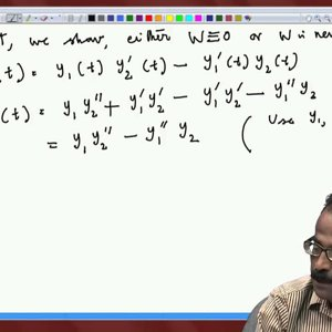 Differential Equations and Applications (NPTEL):- Lecture 12: Second Order Linear Equations I