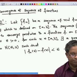 Differential Equations and Applications (NPTEL):- Lecture 08: Analysis I