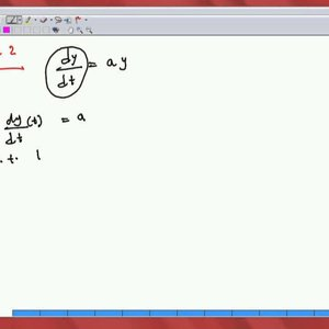 Differential Equations and Applications (NPTEL):- Lecture 02: Examples I