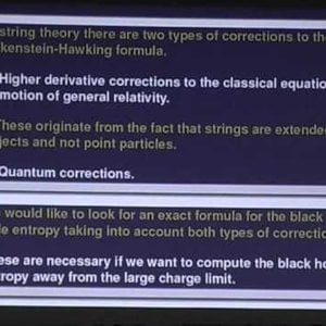 Extremal Black Holes in String Theory (1) by Ashoke Sen