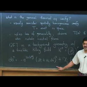 Out-of-equilibrium QFTs and dissipative hydrodynamics - Lecture 3 - YouTube
