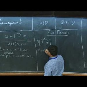 Dualities and Topological Phases of Matter - Lecture 3 - YouTube