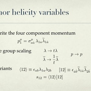 Theory developments on Amplitudes - Lecture 2