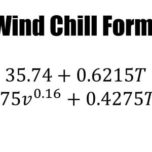 The Wind Chill Formula Explained - YouTube