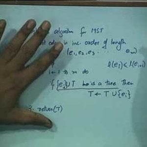 Lecture - 31 Minimum Spanning Trees - Data Structures and Algorithms by Dr. Naveen Garg (NPTEL)