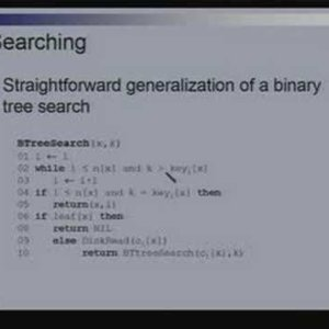 Lecture - 16 Disk Based Data Structures - Data Structures and Algorithms by Dr. Naveen Garg (NPTEL)