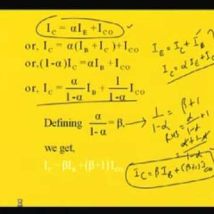 Module - 2 Lecture - 1 Transistor Operation-Part-1 (NPTEL)