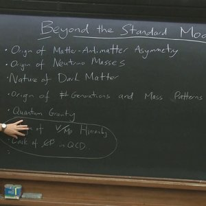 Beyond the Standard Model - Lecture 1