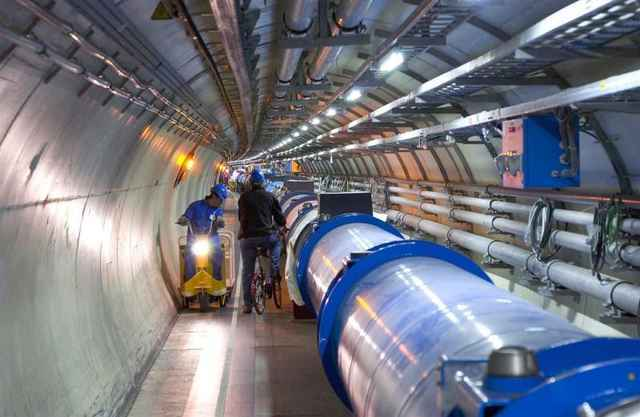 LHC ring