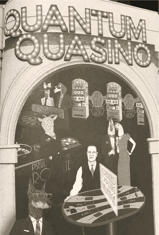 Quantum Quasino Guessing Game