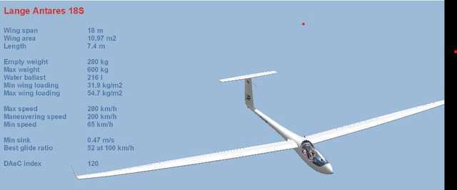 The Lange Antares is a modern high-performance racing glider.