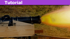 physics cannonball projectile